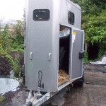 British police seek owner of recovered horse box