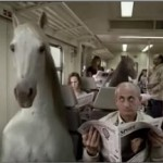 Commercial shows a very different horse world