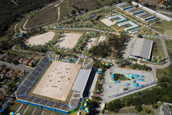 Rio's National Equestrian Center is being expanded and refurbished for the 2016 Olympic Games.
