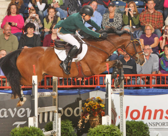 Conor Swail and Game Ready speed to victory in the Grand Prix de Penn National.