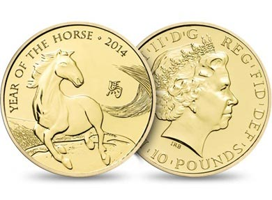 Britain's Royal Mint marks Chinese Year of the Horse with coins