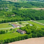 Equestrian estate for sale on shores of Wisconsin lake