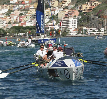 The Atlantic Polo Team sets off from the Canary Islands on December 4.