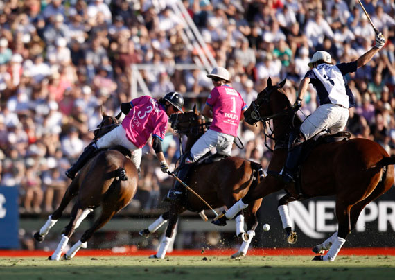La Dolfina won the weekend's Argentine Open polo title.