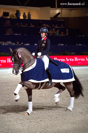 Charlotte Dujardin and Valegro. © Anniek van Schaik / www.focussed.nl