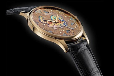 Chopard's Year of the Horse offering features intricate lacquer work.