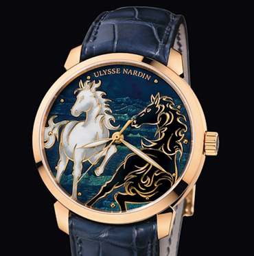 Just 88 examples of this Ulysse Nardin watch will be available.