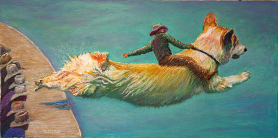 Let's Ride Diver Dogs by Louise Mellon.
