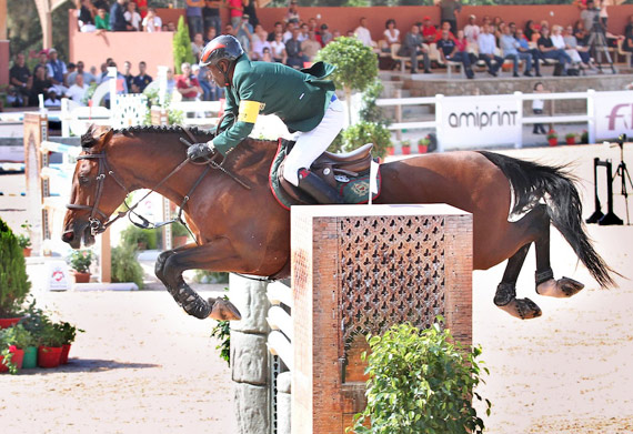 Morocco's Abdelkabir Quaddar won the FEI World Cup Jumping 2013/2014 Arab League and now heads for the Final in Lyon, France next month.
