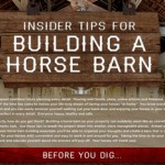 Top tips on building a horse barn