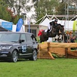 Sarah Young and SS Galaxy were the first combination through the Land-Rover Marquee and into the arena in the CIC2*.