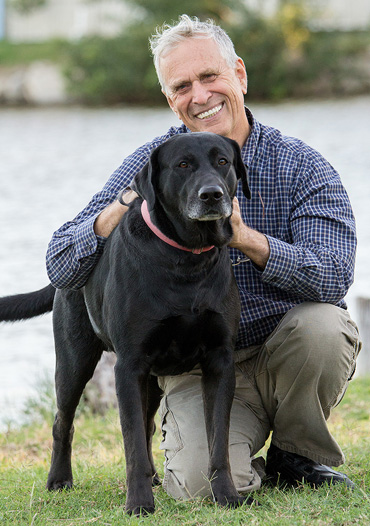 Ron Hines: The Texas-based veterinarian is at the center of a free-speech lawsuit.
