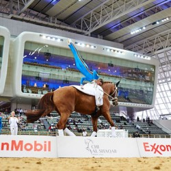Middle East welcomes first vaulting competition