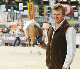 Athletes including Australia's Boyd Exell, the world and four-time FEI World Cup Driving champion and athlete representative on the FEI Driving Committee, will be using the newly launched FEI SportApp to plan their busy competition schedules.