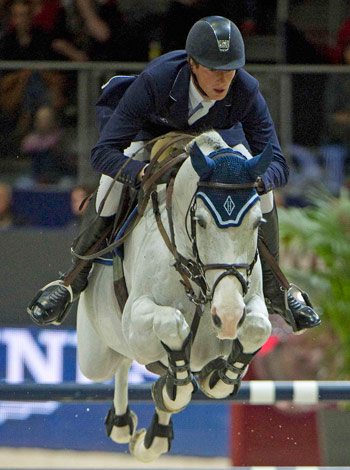 Daniel Deusser and Cornet d'Amour.
