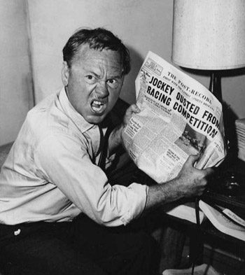 Mickey Rooney in the 1963 Twilight Zone episode The Last Night of a Jockey.