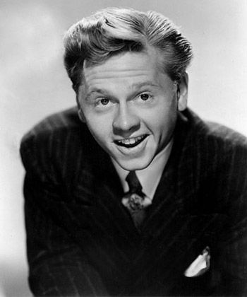 Mickey Rooney in 1945.