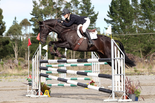 CCI1* winner Sarah Young and Regal Romar.