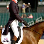 William Fox-Pitt is in second and 10th places after the final day of dressage at the RK3DE.