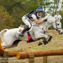 Clarke Johnstone leaps to top of NZ eventing league