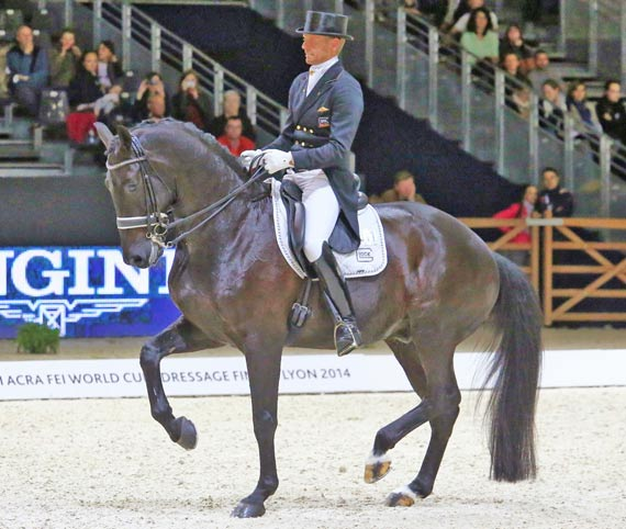 Edward Gal and Glock's Undercover were third, scoring 80.029.