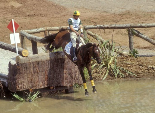 Kibah Tic Toc and Matt Ryan on the cross-country at Barcelona.