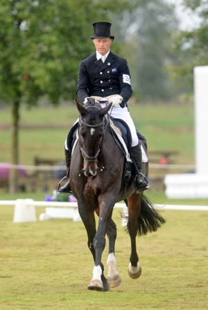 Matthew Grayling and NRM Lowenberg lead after the dressage phase of the Kihikihi 3* horse trials.