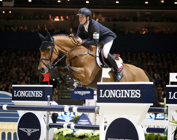 Third placegetter Scott Brash and Ursula.