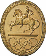 Lot 338, a bronze participation medal from 1956.