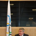 IOC President Thomas Bach announced the extended NBCU Olympic broadcasting deal on Wednesday.