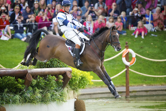 William Fox-Pitt and Lionheart at the 2012 Olympic Games in London.