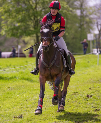 BE90 winner Zoe Symes and Serendipity IV.