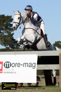 CCI*** leader Clarke Johnstone and Balmoral Sensation.