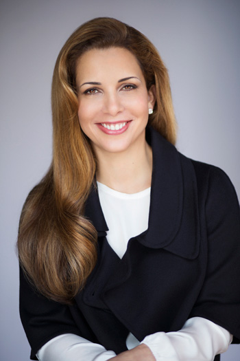 Princess Haya who will be made Officer of the National Order of the Legion of Honour, France's highest distinction. Photo: FEI