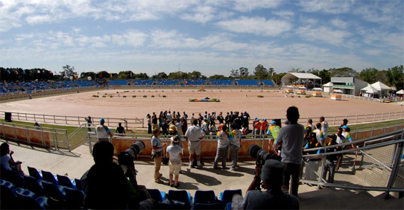 Brazil's National Equestrian Center.