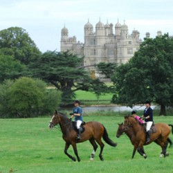 Chance to ride along Burghley cross-country