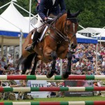 British-owned part arabian leads eventing rankings