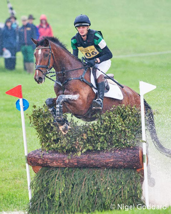 Under-25 CCI3* winner Tom Jackson and Waltham Fiddlers Find on the cross-country.