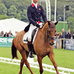 William Fox-Pitt (GBR) and Freddie Mac, 15th after the dressage.