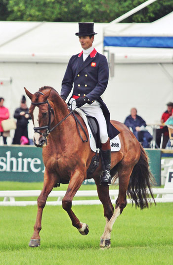 William Fox-Pitt and Chilli Morning.