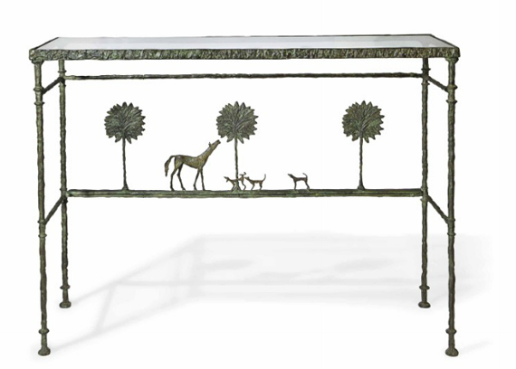 Horse Themed Table Carries Pre Auction Estimate Of Up To Us593 600