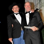 George Tidball, left, and Ian Millar at the 2009 Jump Canada Hall of Fame Gala. Photo: Michelle Dunn