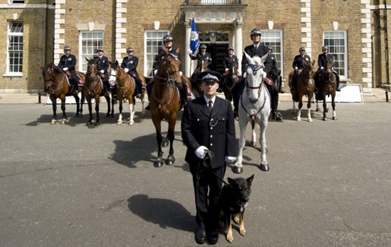 The first recipients of the PDSA Order of Merit for their exemplary service during the 2011 London riots.
