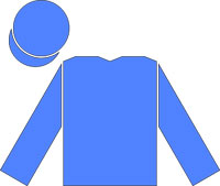 The royal blue silks of Godolphin.
