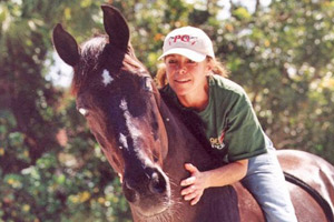 Jeanette Sassoon and Valiant.