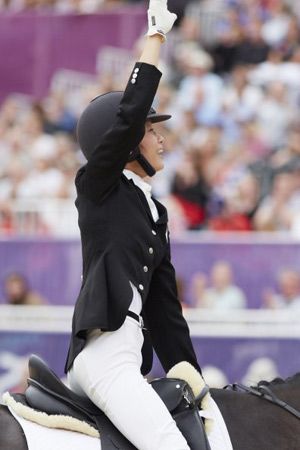 FEI Solidarity Ambassador and Paralympic star Laurentia Tan (SIN) has been elected as Athlete Representative for Para-Equestrian.