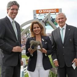 FEI's Princess Haya honored at Aachen