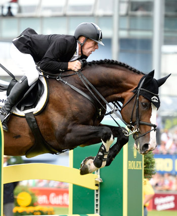 Marcus Ehning and Plot Blue.