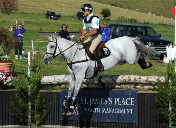 Barbury CIC3* winners Andrew Nicholson and Avebury.