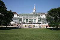 Vienna's Burggarten.